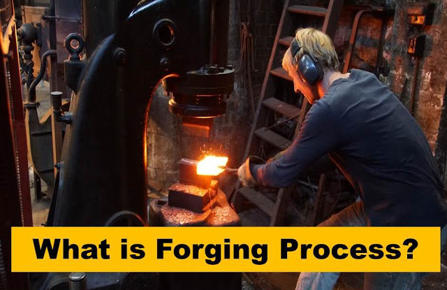 What is Forging Process, Operation, Types, Application, Advantages and Disadvantages?