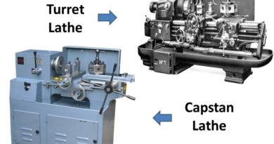 Difference between Capstan and Turret Lathe