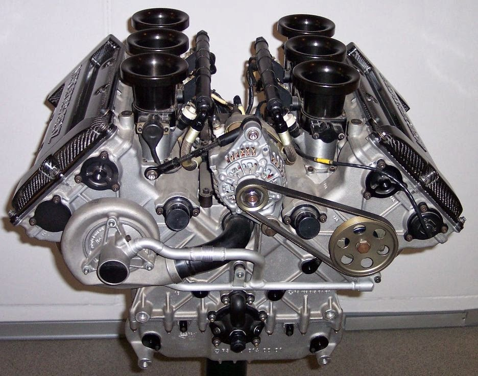 main types of automobile engine?