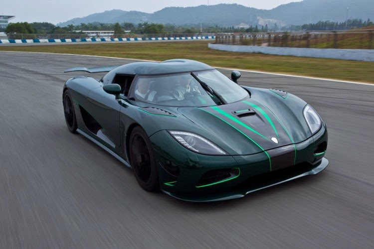 Top Five Expensive Cars in 2014