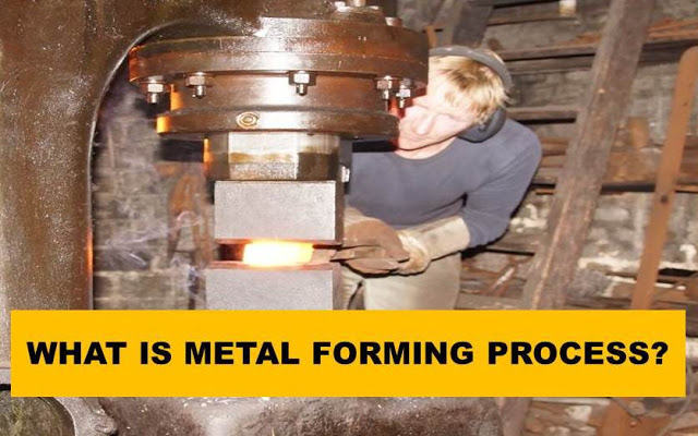 What are Metal Forming Process? How Can We Classify it?