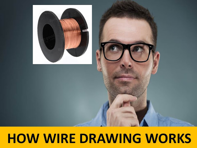 Types of Drawing Process: Wire Drawing, Rod Drawing and Tube Drawing