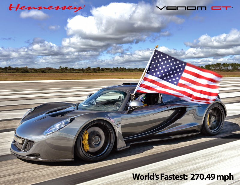 Top 5 Fastest Car in The World 2014
