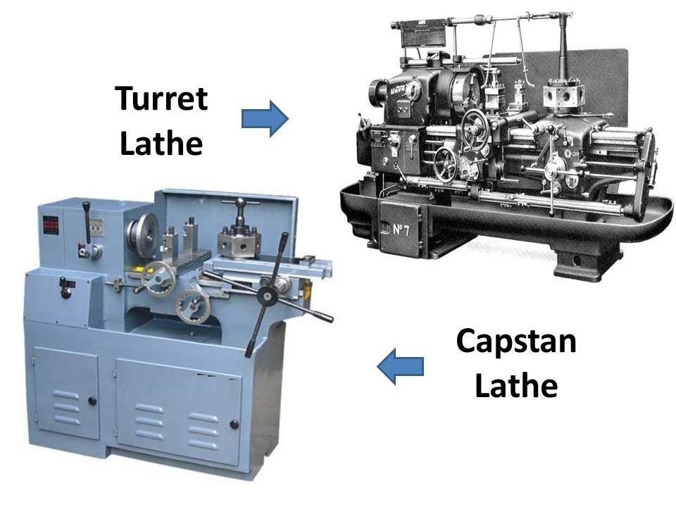 Difference Between Capstan And Turret Lathe Mech4study